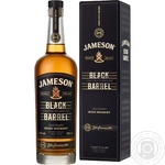 Jameson Black Barrel Whiskey 700ml gift box