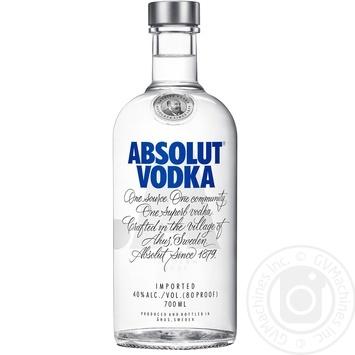 Absolut Standard Vodka 40% 700ml