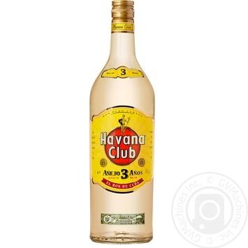 Ром Havana Club 3 года 40% 1л - купить, цены на Novus - фото 1