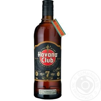 Ром Havana Club Anejo 7 лет 40% 0,7л