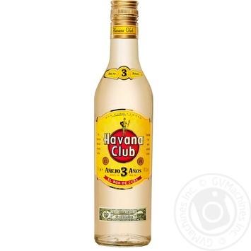 Havana Club 3YO Rum 500ml