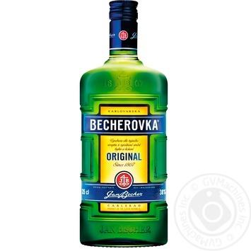 Ликерная настойка на травах Becherovka 38% 0,35л