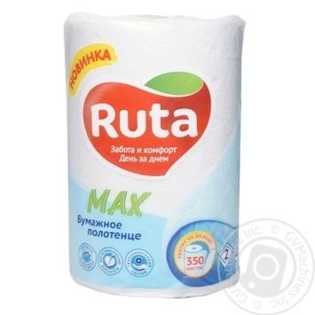 Ruta Max Paper towel 350 sheets 1pcs - buy, prices for Metro - image 3
