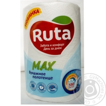 Ruta Max Paper towel 350 sheets 1pcs - buy, prices for Metro - image 4