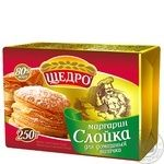 Schedro Slojka for home bakery Margarine 80% 250g