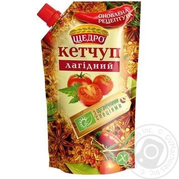 Кетчуп Щедро Лагідний 200г