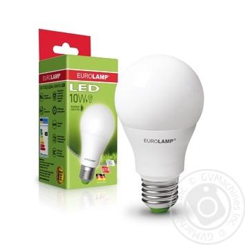 Лампа светодиодная Eurolamp LED A60 E27 10W 4000K - купить, цены на Ашан - фото 1