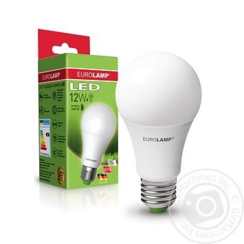 Лампа Eurolamp LED ЕКО A60 12W 3000K E27