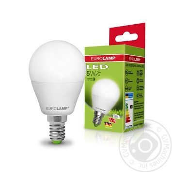 Лампа Eurolamp LED ЕКО G45 5W 4000K E14