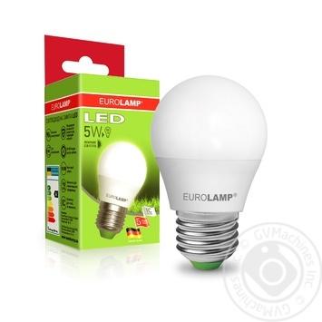 Лампа Eurolamp LED ЕКО G45 5W 4000K E27