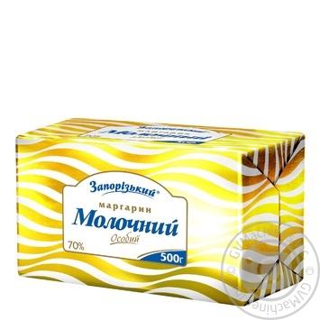Маргарин Запорожский Молочный особый 70% 500г