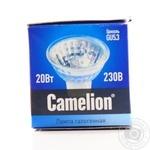 Лампа CAMELION ГалогJCDR50mm220V20W GX5,3 шт