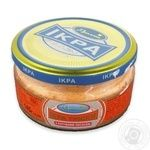 Rusalochka for sandwich with smoked salmon cod caviar 145g
