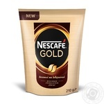Кофе Nescafe Gold растворимый 210г