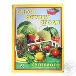 Игра Суперлото Овощи фрукты ягоды