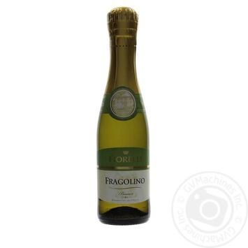 Вино игристое Fiorelli Fragolino Bianco белое полусладкое 0,2л