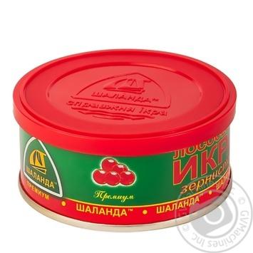 Shalanda Premium Salmon caviar 100g - buy, prices for MegaMarket - image 2