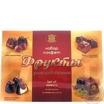 Candy Biscuit-chocolate Fruits 350g in a box