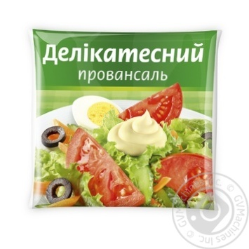 Майонезний соус Делікатесний Провансаль 15% 350г