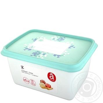 Контейнер Actuel для морозива пластиковий 1л - купити, ціни на Ашан - фото 1