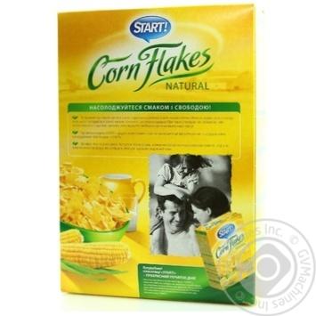 Пластівці Start кукуруздяні натуральні 375г - купити, ціни на Novus - фото 3