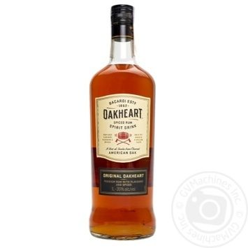 Ром Bacardi Oakheart Original 35% 1л