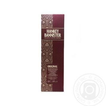 Виски Hankey Bannister Original 40% 0,7л - купить, цены на Novus - фото 2