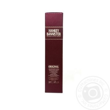 Віскі Hankey Bannister Original 40% 0,7л - купити, ціни на Novus - фото 3