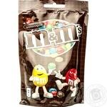 Драже M&M's с молочным шоколадом покрытое хрустящей разноцветной глазурью 125г