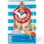 Fish herring Santa bremor Moryachok pickled 450g Belarus
