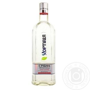 Khortytsya Srybna Prokholoda Vodka 40% 0,7l