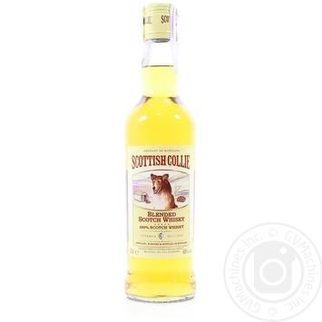 Виски Scottish Collie 3 года 40% 0,5л - купить, цены на Novus - фото 1