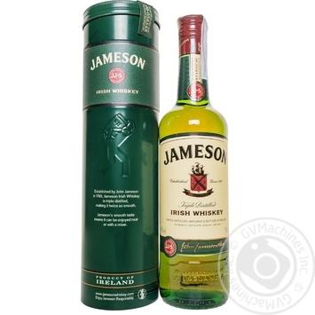 Виски Jameson Irish Whiskey 40% 0.7л в металлической упаковке