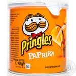 Чипсы Pringles Паприка 40г