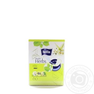 Прокладки гігієнічні щоденні Bella Panty Herbs tilia 60шт