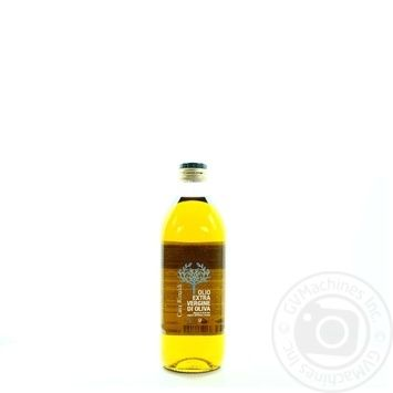 Oil Casa rinaldi olive extra virgin 1000ml glass bottle
