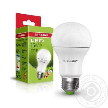 Лампа Eurolamp LED ЕКО D А60 15W 4000K E27