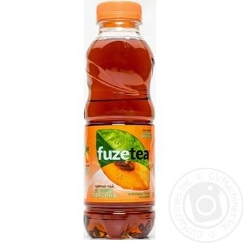 Напиток Fuzetea Черный чай со вкусом персика негазированный 0,5л