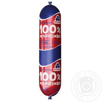 Морозиво Рудь 100% 1кг - купити, ціни на Ашан - фото 1