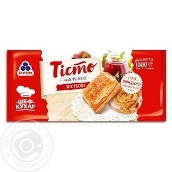 Тесто Рудь слоеное 1000г - купить, цены на Таврия В - фото 1
