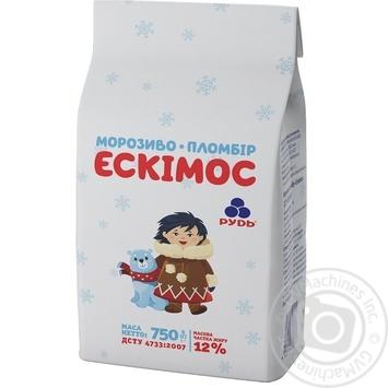 Мороженое Рудь пломбир Эскимос 750г - купить, цены на Метро - фото 2