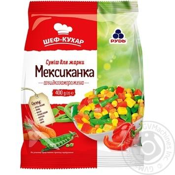 Суміш овочева Рудь Мексиканка для смаження 400г