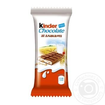 Шоколад Kinder Сountry молочный 23.5г - купить, цены на Novus - фото 1