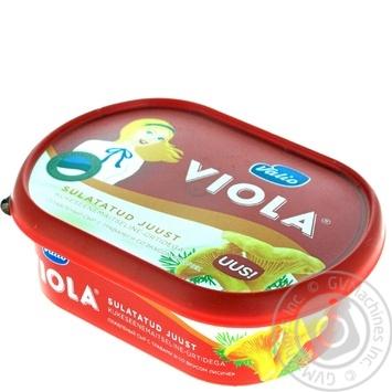 Сыр Valio Viola плавленый с травами и со вкусом лисичек 18% 185г