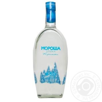 Водка Мороша Карпатская 40% 0,7л - купить, цены на Novus - фото 3