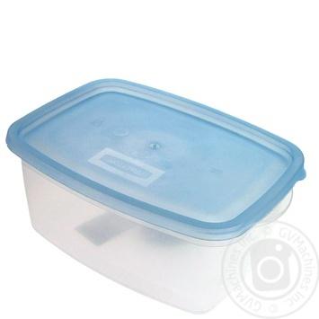 Контейнер Пластторг для пищевых продуктов прямоугольный 1,5л