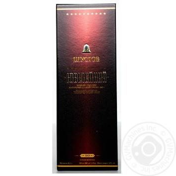 Konʹyak Ukrayiny Shustov Yuvileynyy vintage 43% 0,5l - buy, prices for Novus - image 6