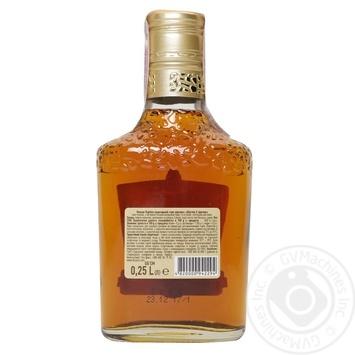 Shustov Ukrainian V.S. 3 Yrs Cognac 40% 0.25l - buy, prices for Novus - image 2