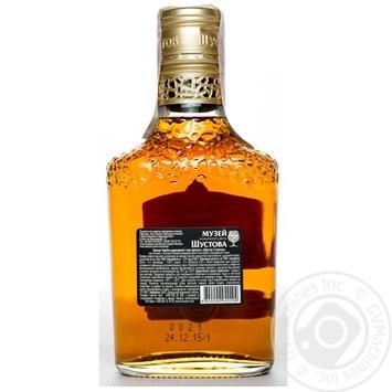 Shustov Ukrainian V.S. 3 Yrs Cognac 40% 0.25l - buy, prices for Novus - image 4