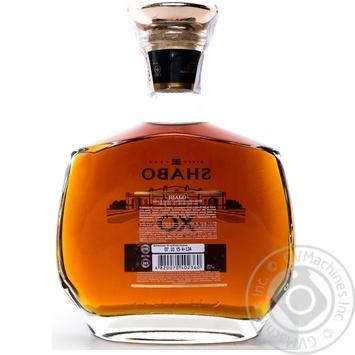 Shabo XO Grape brandy 10y.o. 40% 0,5l - buy, prices for Furshet - image 8